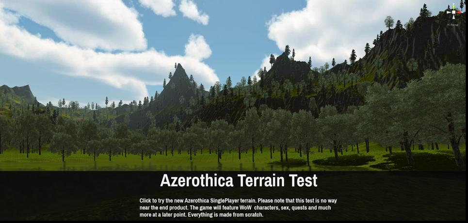 Azerothica Terrain Test
