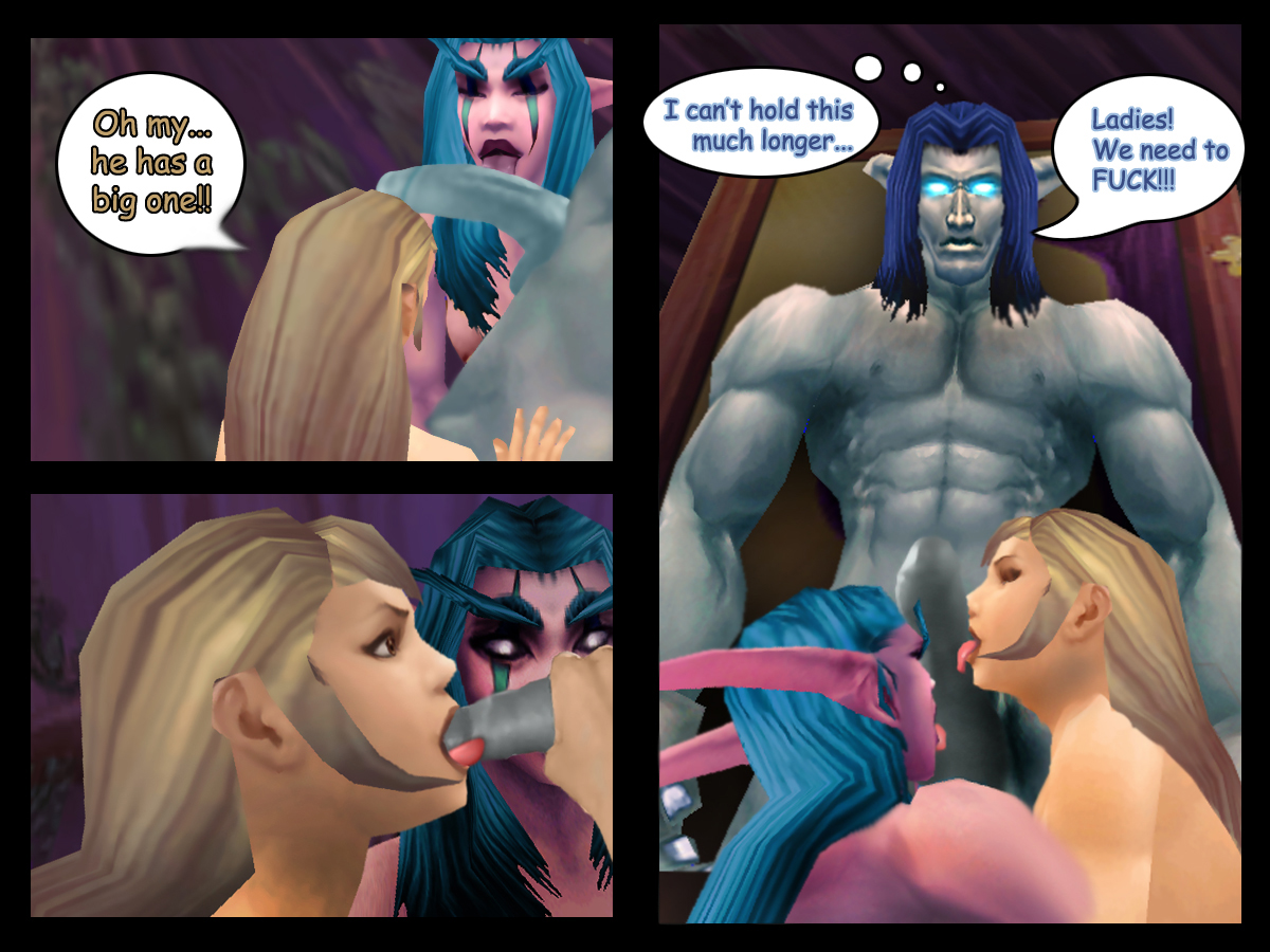 World of porncraft jaina and sylvanas naked comic