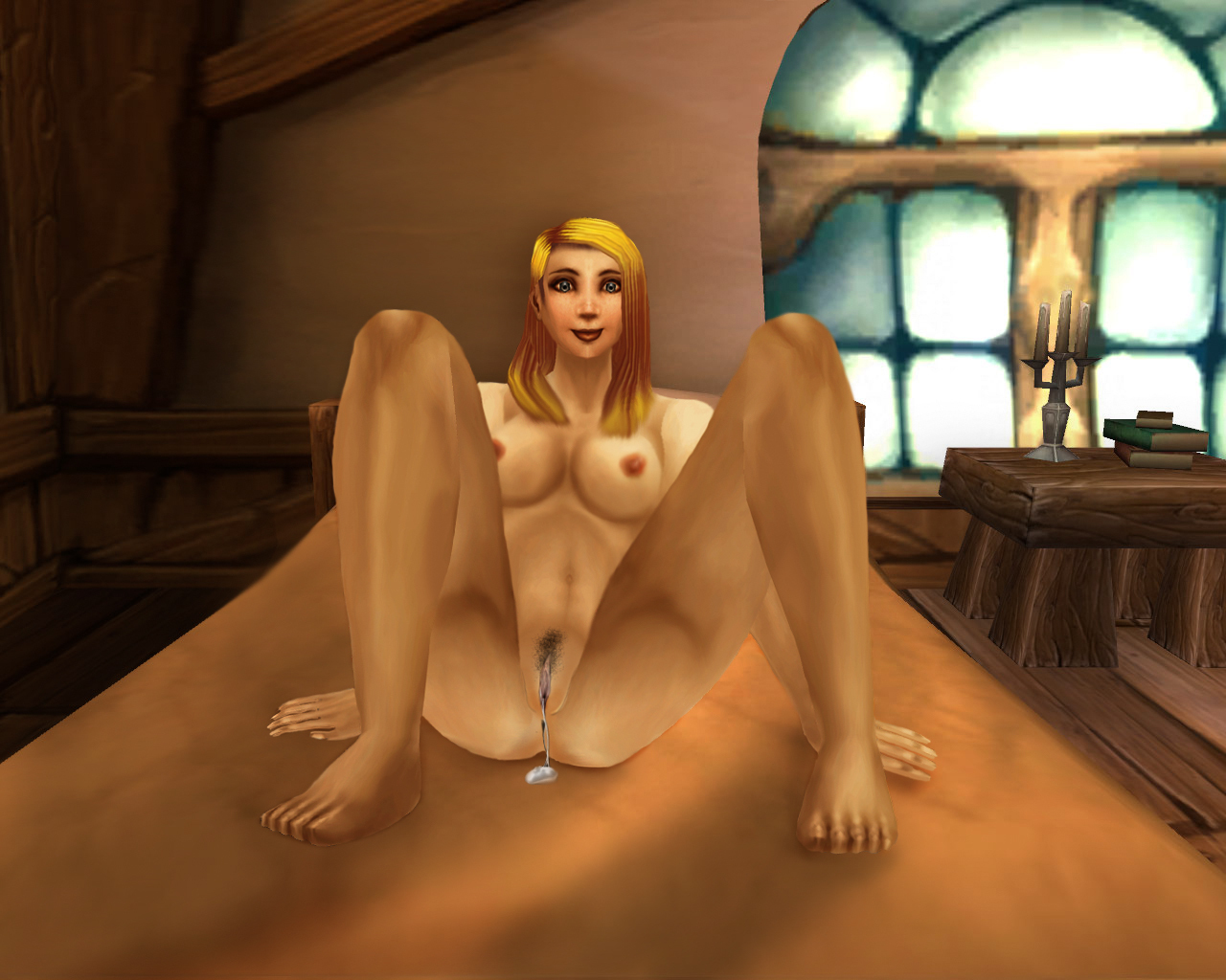 Naked world of warcraft girls having sex  porno scene