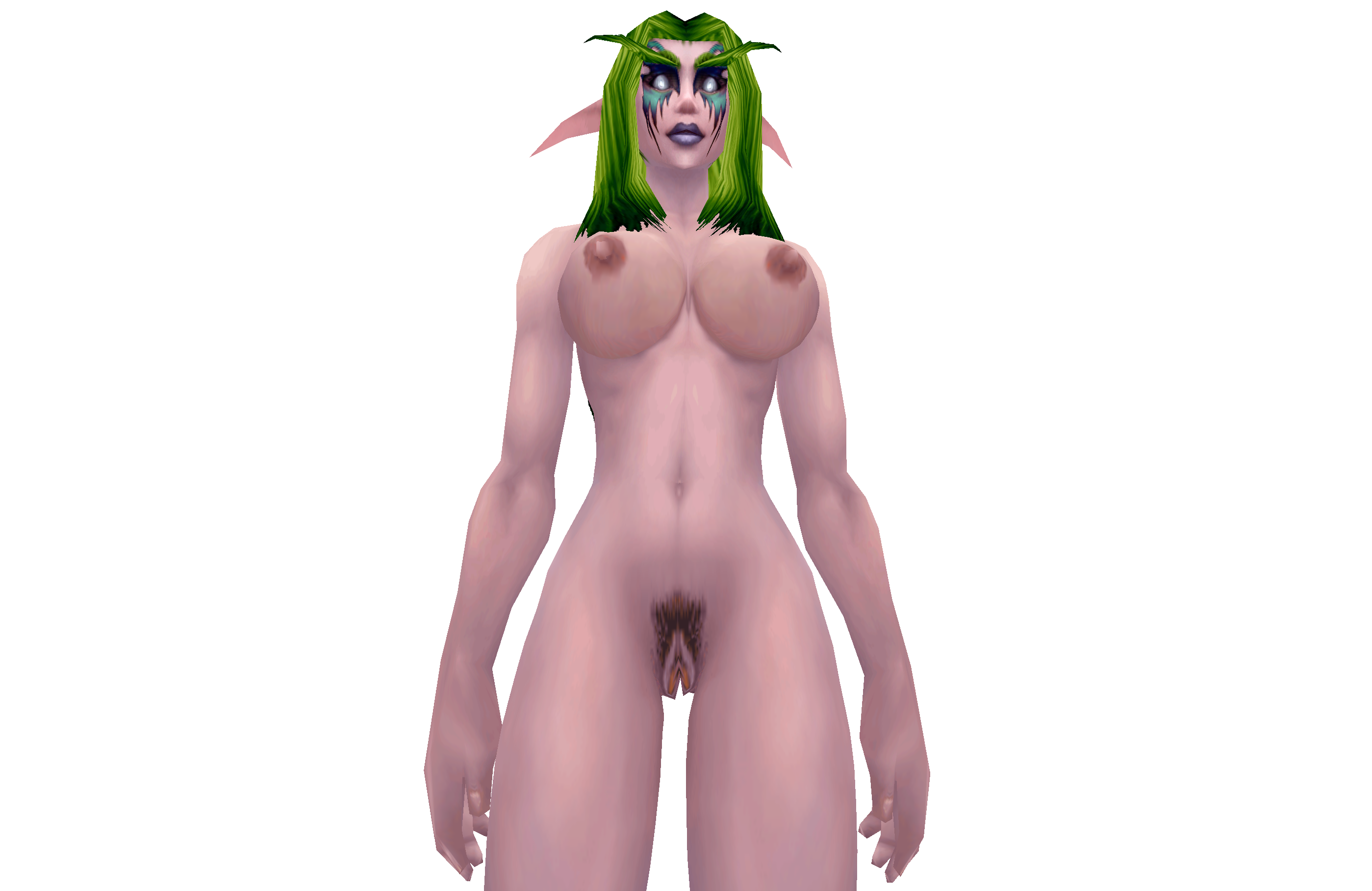 Wow in game characters naked mod softcore clip