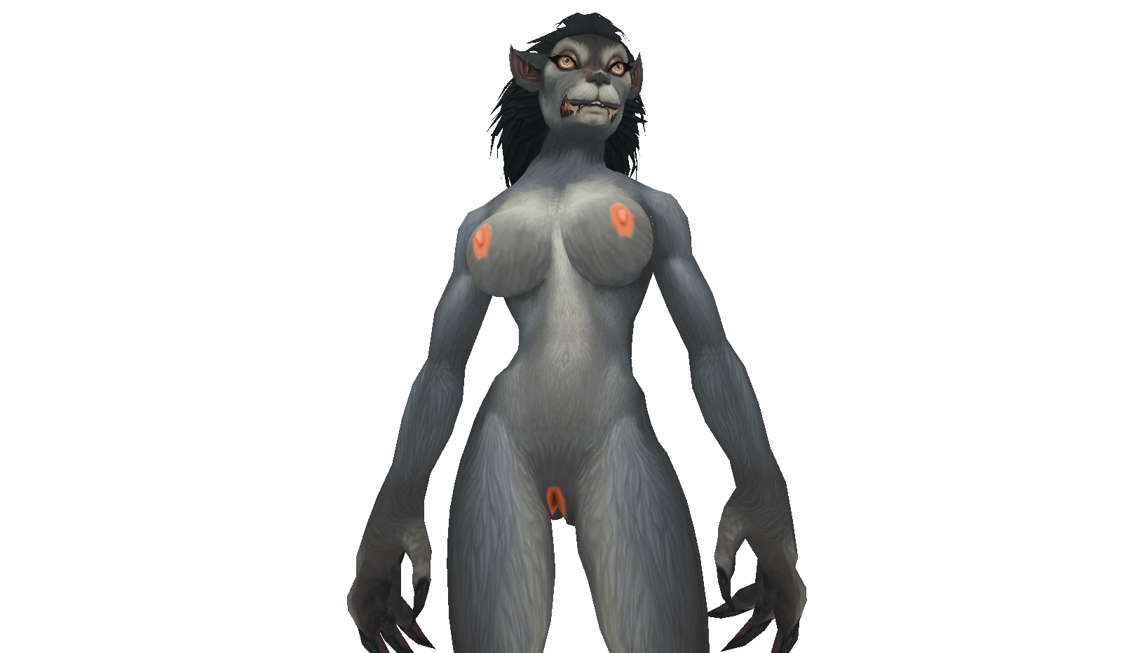 Female worgen naked nudes galleries