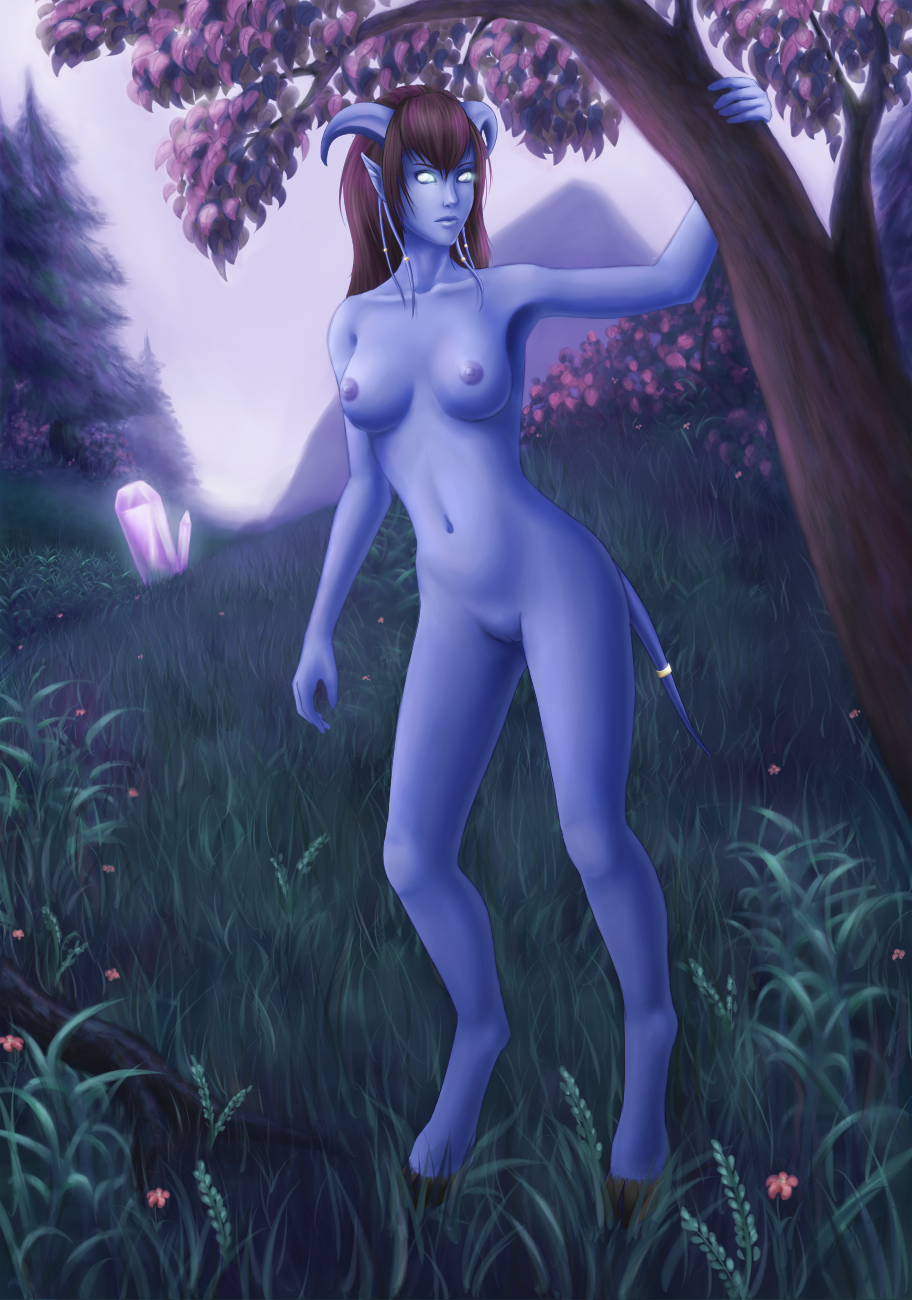 Porncraft - draenei naked models