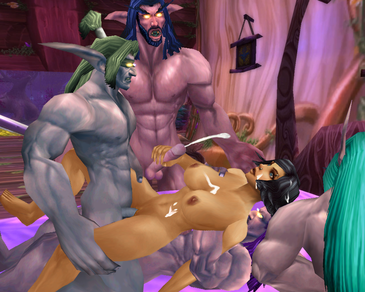 Free world of warcraft sex videos porn video