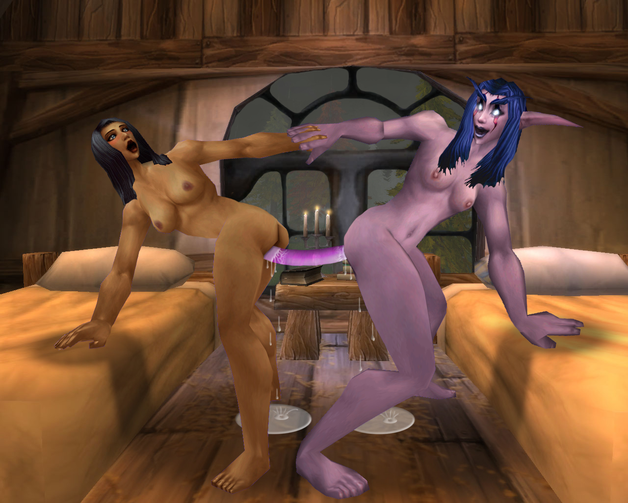 Alexstrasza and the 7 dwarfs porno cartoon scenes