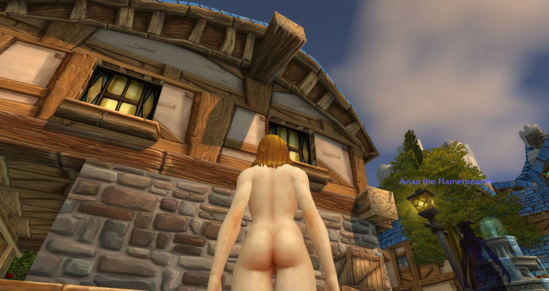 Wow in game characters naked mod naked galleries