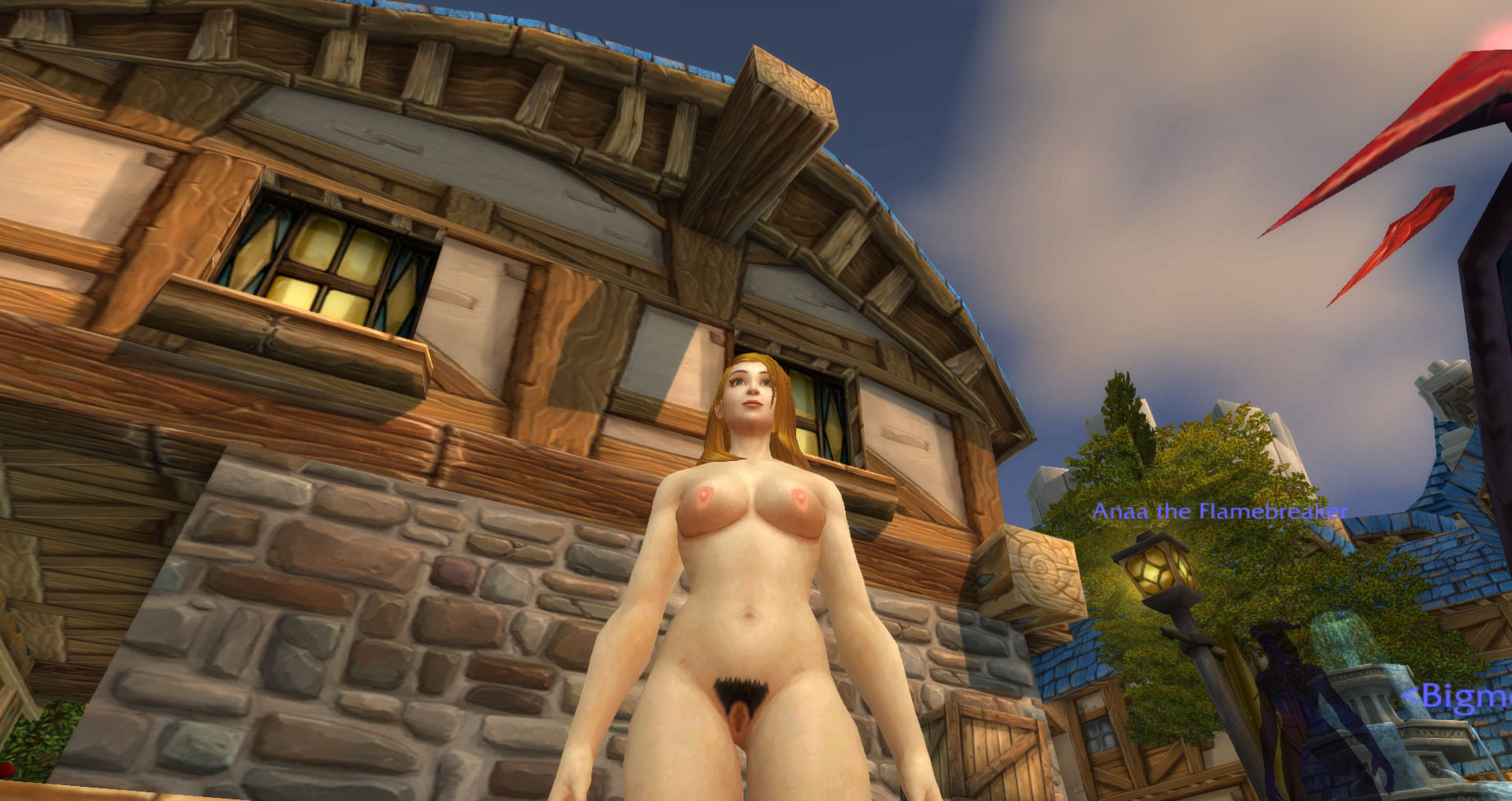 Nude mod for wow hardcore scenes