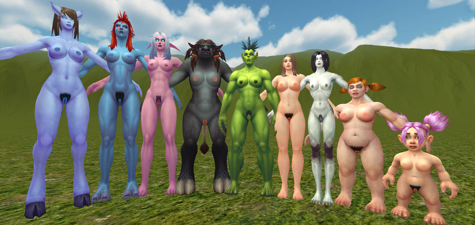 World of warcraft xxx mods nudes scene