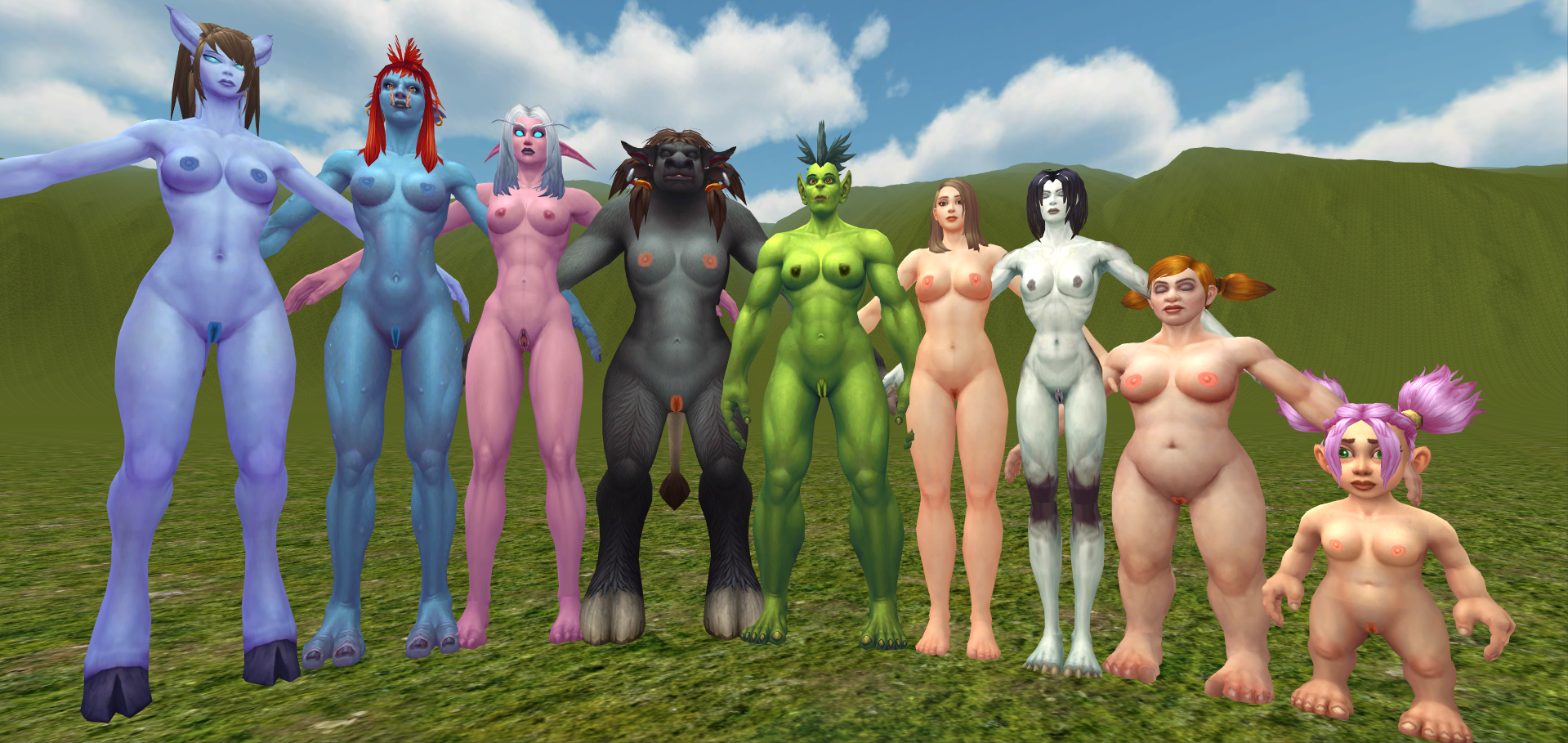 Best nude patch world of warcraft