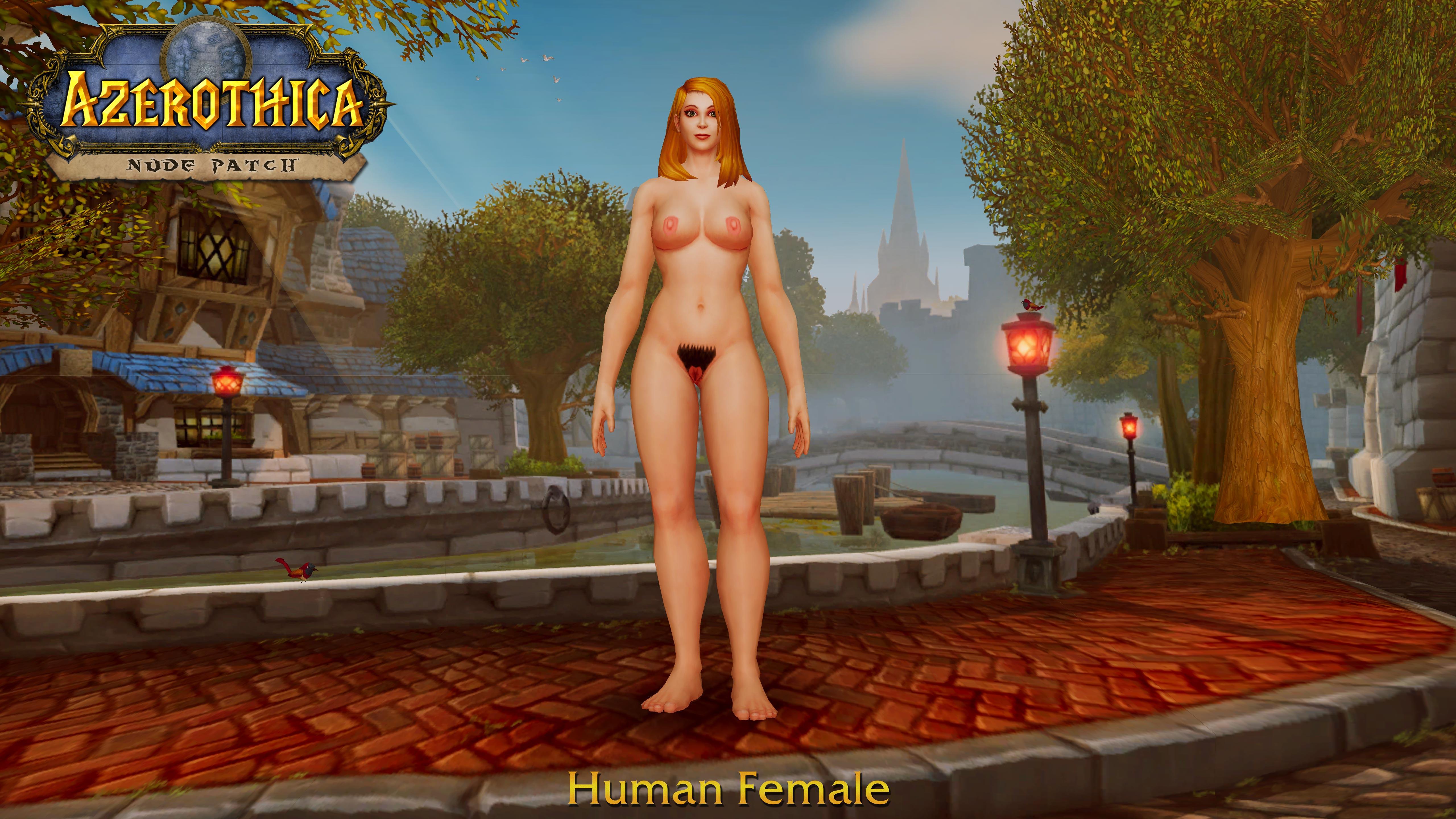 Wow female human naked