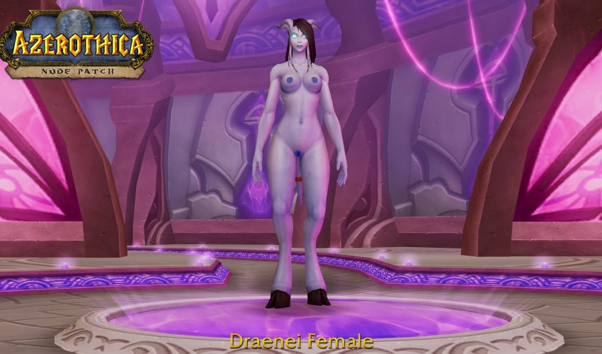 Draenei-Female-Shaved