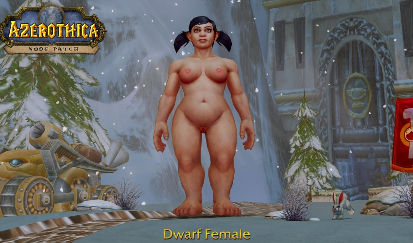 Dwarf-Female-Shaved
