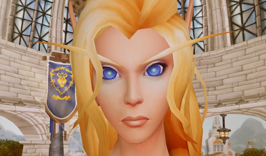 high-elf-face-view