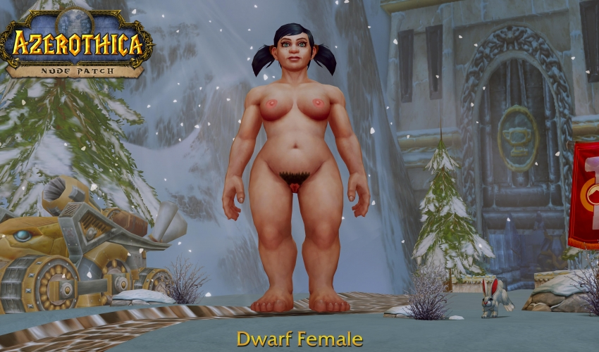 Dwarf-Female-Hairy