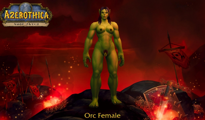 Orc-Female-Hairy