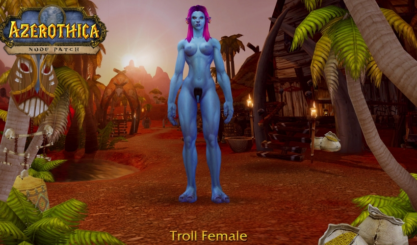 Troll-Female-Hairy